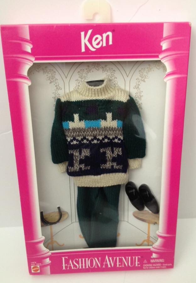 1995 Ken Fashion Avenue - Sweater