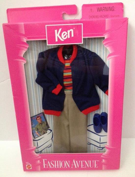 1998 Ken Fashion Avenue - Blue jacket