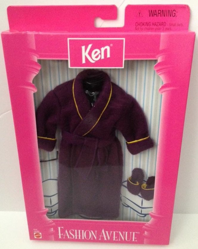 1998 Ken Fashion Avenue - Purple Robe