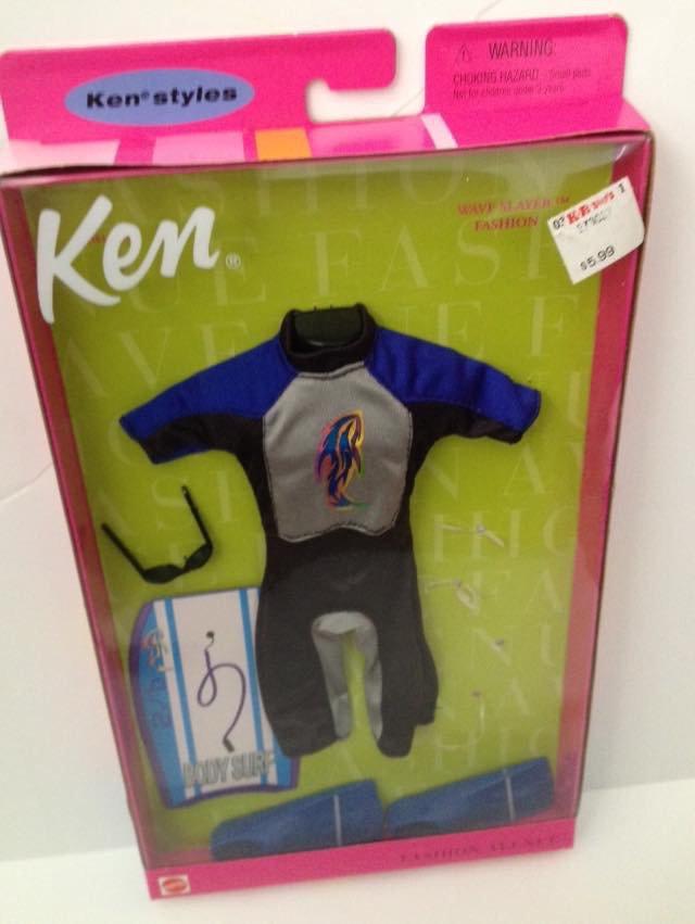 2000 Ken Fashion Avenue - Wave Slayer wet suit