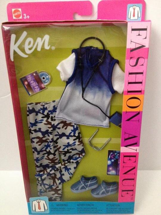 2002 Ken Fashion Avenue - Blue Camo