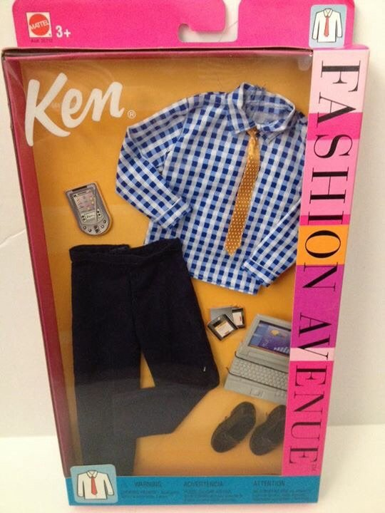 2002 Ken Fashion Avenue - Blue Suit