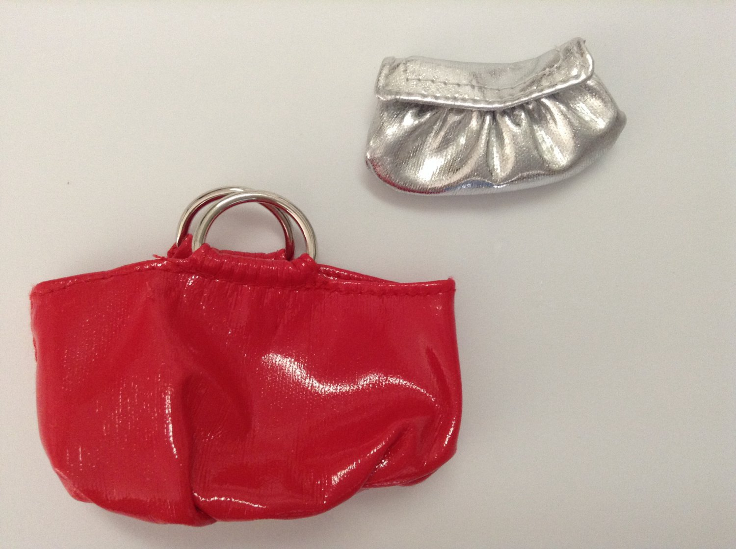 2 Barbie Collector Doll Purses
