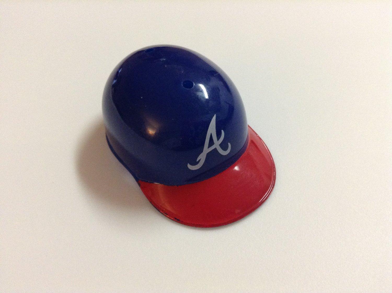 MLB Mini Helmet - Fits Barbie - Atlanta Braves