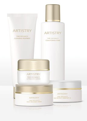 ARTISTRY® TIME DEFIANCE® Unstoppable You Skincare/Eye Crème Promotion for Normal/Dry Skin