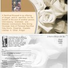 St.Pio Spiritual Bouquet Card with envelope Catholic - 5.5 X 8.5  $3.00 Free SH-cont USA