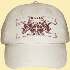 Prayer Warrior Hat adjustable  $19 + $4 SH