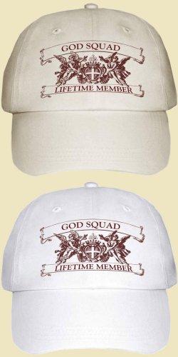 God Squad Lifetime Member Hat  adjustable  $19 + $4SH