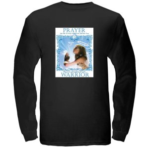 Prayer Warrior Black LS T-Shirt  $24.95