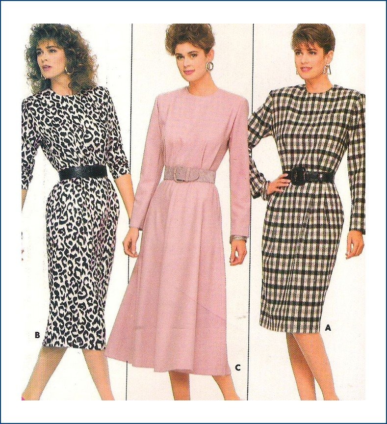 Butterick Pattern 5756 Misses Dress Size 12 14 or 6 8 10