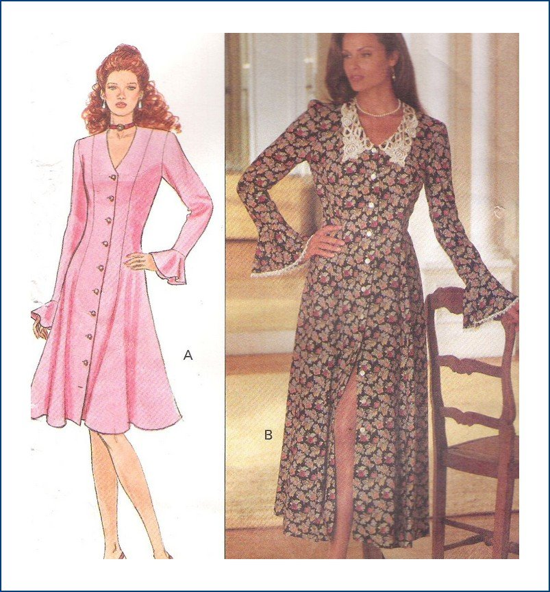 Butterick 3179 Pattern Misses Leslie Fay Dress Size  6 8 10 Uncut