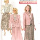 Butterick 5842 Misses Jacket Blouse Skirt Pattern J G Hook Uncut Size 6 8 10