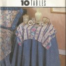 Simplicity House Pattern 8418 Instruction Cards for 10 Tablecloths