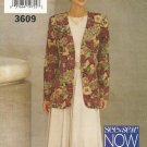 Uncut Pattern Butterick 3609 Misses Jacket and Dress See & Sew Easy Size 12 14 16