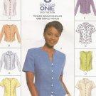 McCalls 8746 Misses Blouse Top Shirt Pattern Uncut Size 8  10  12 8  Great Looks