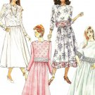 Mccalls 6303 Uncut Sewing Pattern Misses Two Piece Dresses Evening or Day Size 10 12 14