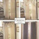 McCalls 8142 Croscill Custom Designed Window Treatments Panels Valances Curtains Pattern
