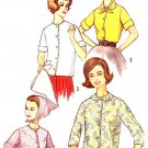 Vintage Pattern Simplicity 4603 Junior Teens Scarf and Basic Shirt Sewing Pattern Size 14 Uncut