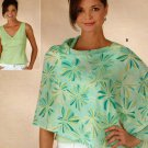 Misses Easy Summer Top And Poncho Pattern Uncut Simplicity 4676 Sizes 6-16