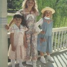 Uncut Girls Pattern Dress Jumper Sailor Collar Jumpsuit Purse Front Porch 5290 Size 3 4 5 6 6X