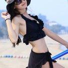 Woman Sexy Bikini swimwear in Black 3pies S/ M/L