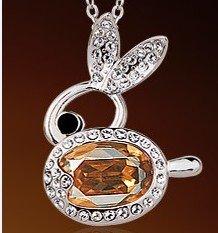 rabbit fashion necklace