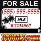 Relist MAX MLS and 24 x 24 Aluminum Yard Sign