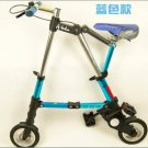 Quality Folding bike Abike 8 inch (blue) Free shipping