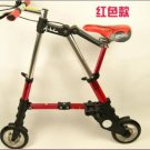Quality Folding bike Abike 8 inch (red) Free shipping