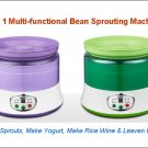 4 in 1 Multifunctional Bean Sprouter, Yogurt Maker, Wine Maker, Leaven Dough