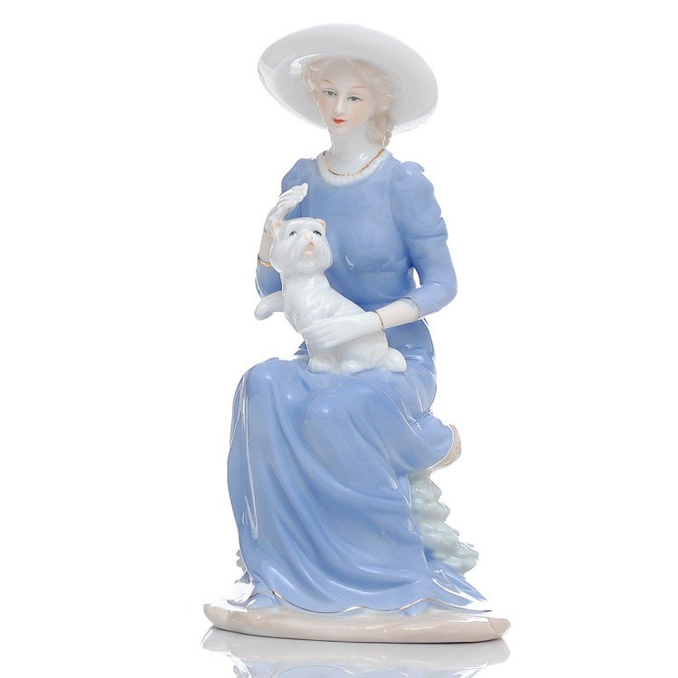 Great Beauty Porcelain Sculpture (102)Buy1Plus1Free Gift