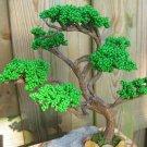 Beaded tree, green
