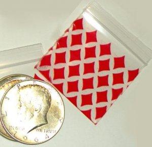 "1000 � Diamonds � Baggies 1.5 x 1.5"" Small Ziplock Bags 1515"