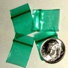 "1000 Green Baggies 5858 zip lock 5/8 x 5/8"" Apple® Brand"