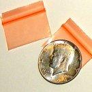 1000 Orange Baggies 12534 ziplock bags 1.25 x 0.75 inch