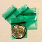 "200 Green Baggies 3434 zip lock 0.75 x 0.75"" Apple Brand"