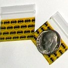 "200 Batman Apple Baggies 1034 zip lock 1 x 0.75"""