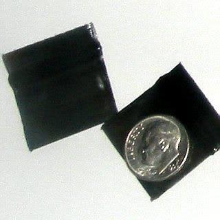 "200 Black Baggies 1034 zip lock 1 x 0.75"" Apple® brand"