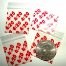 200 It's 4:20 Baggies 1515 Apple® Brand Bags 1.5 x 1.5 in.