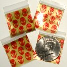 200 Super Hero Design Baggies 125125 Apple® Brand Bags 1.25 x 1.25 in.