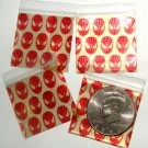 200 Super Hero Design Apple Baggies 1.5 x 1.5 in.
