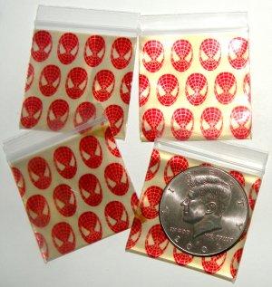 200 Super Hero Design Baggies 1515 Apple® Brand Bags 1.5 x 1.5 in.