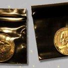 """1000 Black Baggies 1.5 x 1.5"""" Small Ziplock Bags 1515"""