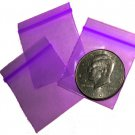 "200 Purple Baggies 1.5 x 1.5"" Small Ziplock Bags 1515"