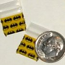 100 Batman Baggies 1212 Small Zip Bags 0.5 x 0.5 in