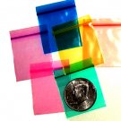 "10,000 Rainbow Colors Baggies 1.5 x 1.5"" Small Ziplock Bags 1515"