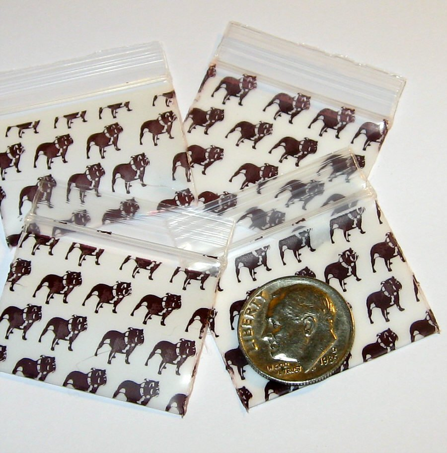200 Top Dog Baggies 12510 Apple® Brand Bags 1.25 x 1 in.