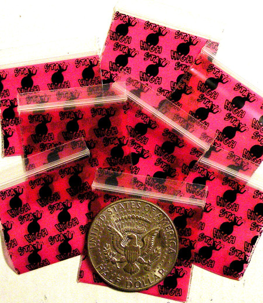 200 Stay High Baggies, 15125 ziplock bags 1.5 x 1.25 inch