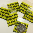 "100 Apple baggies Batman 1 x 1"" Mini Zip Bags 1010 reclosable"