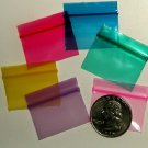 1000 Baggies Color Mix 12534 Apple reclosable mini ziplock bags 1.25 x 0.75 in.